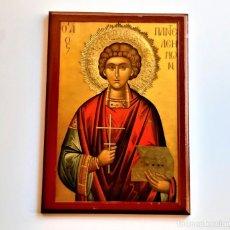 Antigüedades: RETABLO RELIGIOSO MADERA - 20 X 29.CM. Lote 243335325