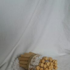Antigüedades: LOTE PARA HACER ENCAJE DE BOLILLOS. Lote 243360945