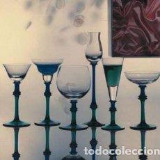 Antigüedades: JUEGO 6 COPAS MINI DE CRISTAL DE BOHEMIA- ARTICULO NUEVO. Lote 243393590