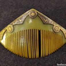 Antigüedades: ANTIGUA PEINETA DE CELULOIDE O BAQUELITA, ART DÉCO. Lote 243454500