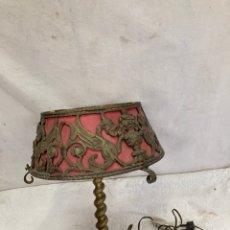 Antiquités: ESPECTACULAR LAMPARA DE BRONCE,ANTIGUA!. Lote 243454885
