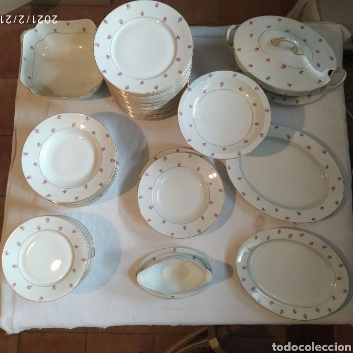 VAJILLA ANTIGUA EAMAG SCHÖNWALD (Antigüedades - Porcelana y Cerámica - Alemana - Meissen)