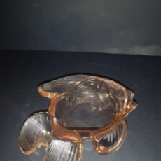 Antigüedades: CENICERO DE CRISTAL DE MURANO. Lote 243493155