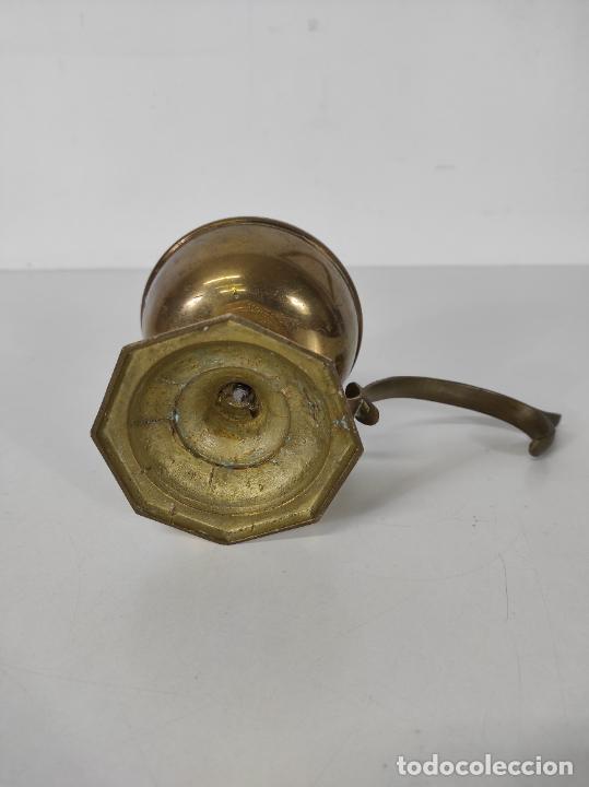 Antigüedades: Incensario de Mano - Quemador en Bronce - Principios S. XX - Foto 11 - 243539430