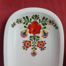 Antigüedades: ANTIGUIA FUENTE POSTRE PORCELANA BEREUTHER WALDSASSEN BAVARIA GERMANIY 264 PINTADO. Lote 243550060