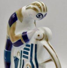 Antiquités: ESCULTURA SARGADELOS LR.. Lote 243550490