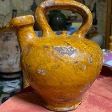 Antigüedades: CANTARO DE ACEITE - FIGUERES. Lote 243553530