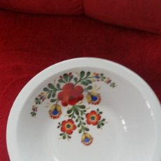 Antigüedades: ANTIGUIA FUENTE REDONDA PORCELANA BEREUTHER WALDSASSEN BAVARIA GERMANIY N.162 PINTADO. Lote 243584005