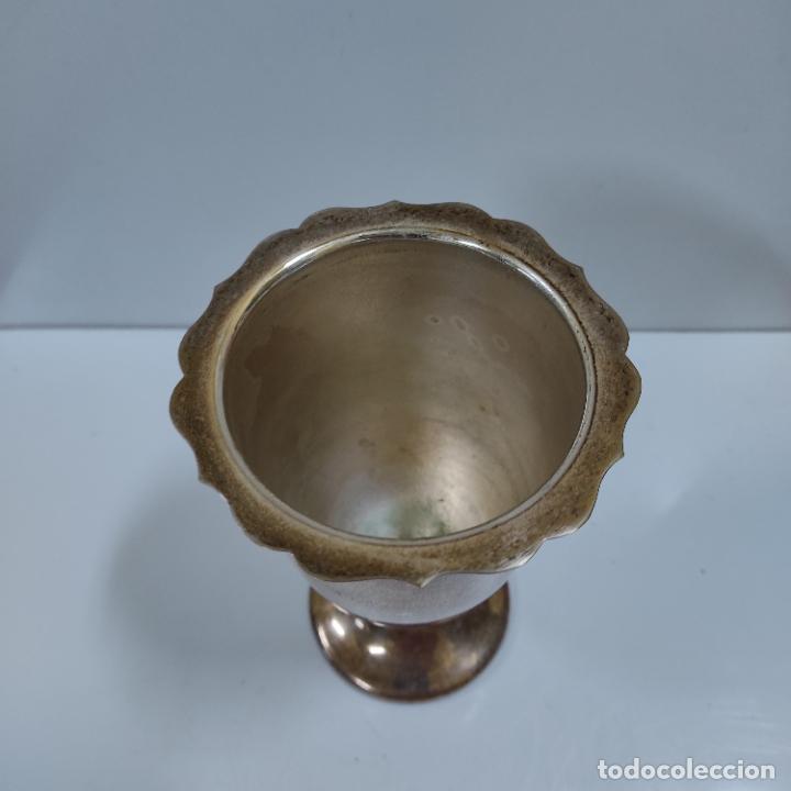 Antigüedades: CURIOSO INCENSARIO O BUTAFUMEIRO DE METAL (908/21) - Foto 3 - 243585835