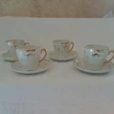 Antigüedades: TAZAS DE CAFÉ MODERNISTA. Lote 243586120