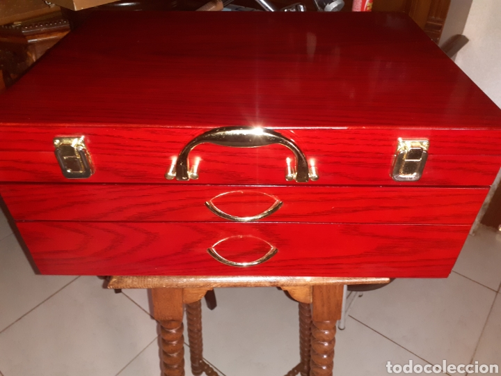 Antigüedades: Caja/Maletin Expositor. Muy buen estado - Foto 3 - 243605105