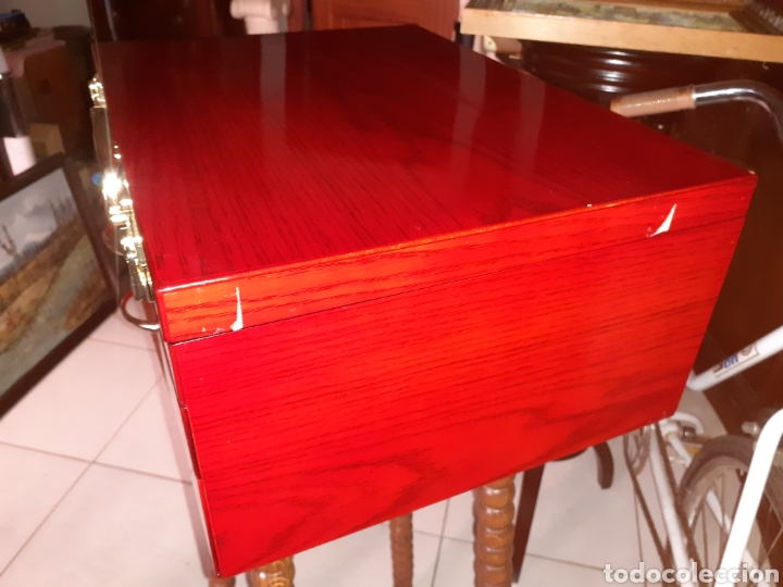 Antigüedades: Caja/Maletin Expositor. Muy buen estado - Foto 5 - 243605105