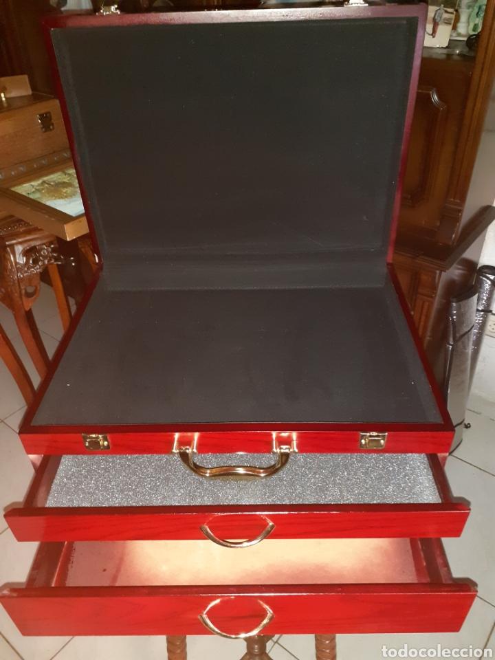 Antigüedades: Caja/Maletin Expositor. Muy buen estado - Foto 7 - 243605105