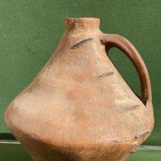 Antigüedades: BOTIJA O CÁNTARO MUY ANTIGUO DE JARQUE ZARAGOZA 35 CMS. ALTURA. Lote 243605960