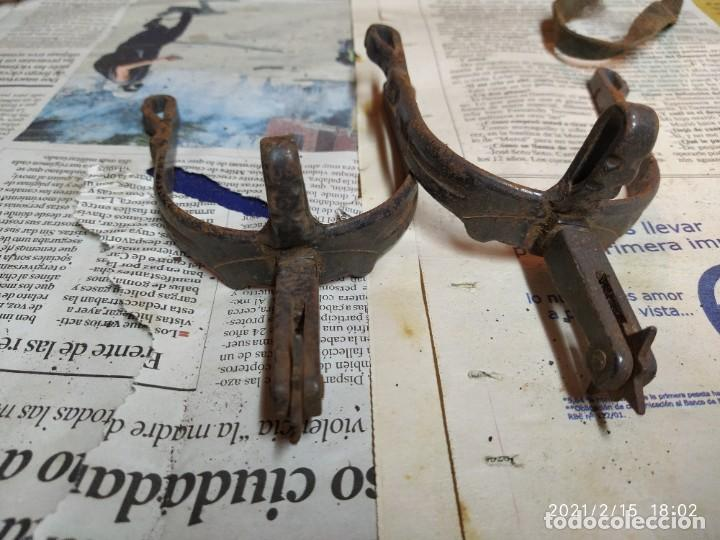 Antigüedades: Super lote de herrajes de caballo. - Foto 11 - 243617060
