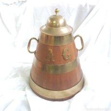 Antigüedades: ANTIGUA SELLA GALLEGA DE CASTAÑO - ORIGINAL DE EPOCA. Lote 243618705