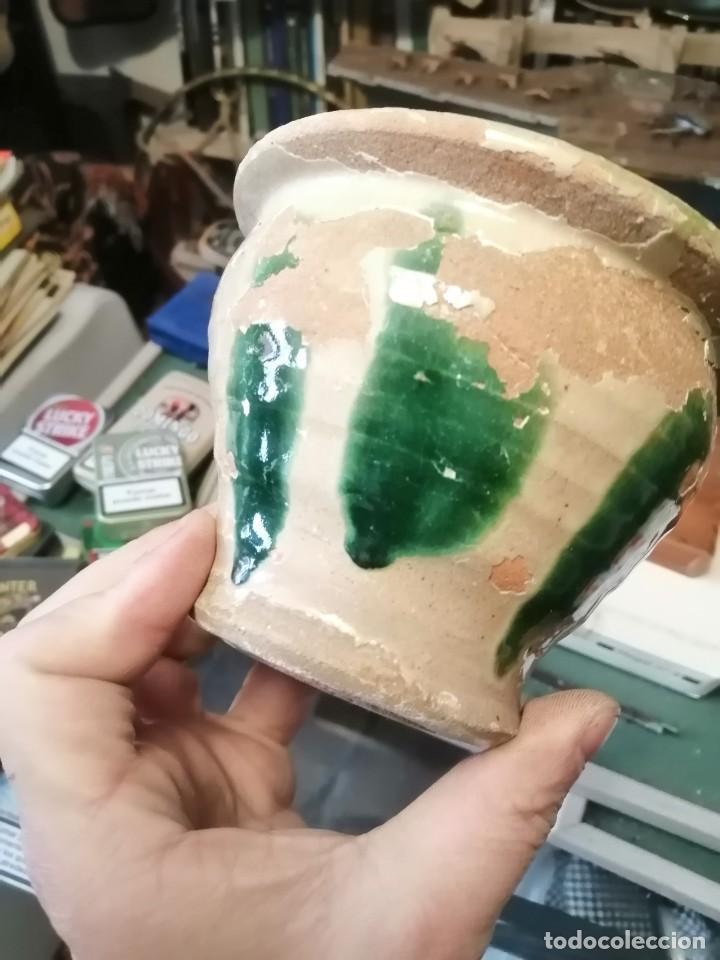 ALMIRECERO FAJALAUZA GRANADA ANTIGUO (Antigüedades - Porcelanas y Cerámicas - Fajalauza)