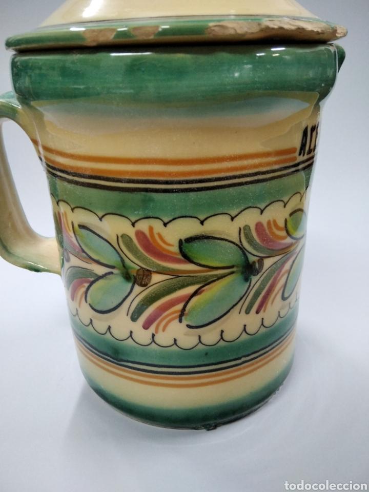 Antigüedades: Cerámica Puente del Arzobispo jarra cocina - Foto 4 - 243625165