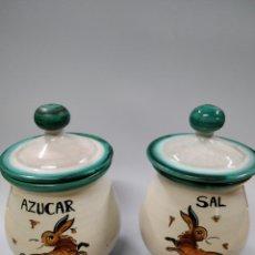Antigüedades: CERÁMICA DEL PUENTE DEL ARZOBISPO JARRON COCINA. Lote 243628645