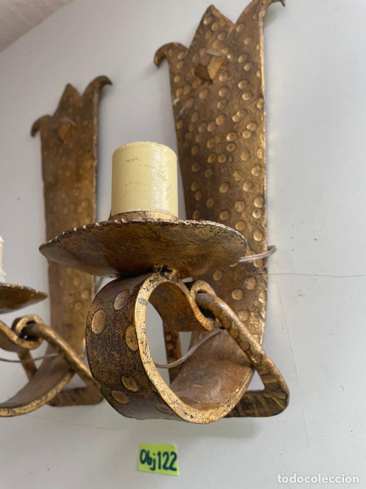 Antigüedades: Antiguos apliques - Foto 3 - 243631090