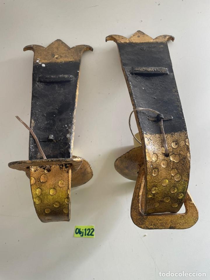 Antigüedades: Antiguos apliques - Foto 4 - 243631090