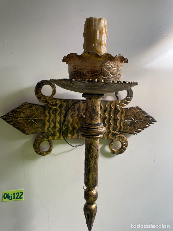 Antigüedades: Antiguos apliques - Foto 3 - 243631500