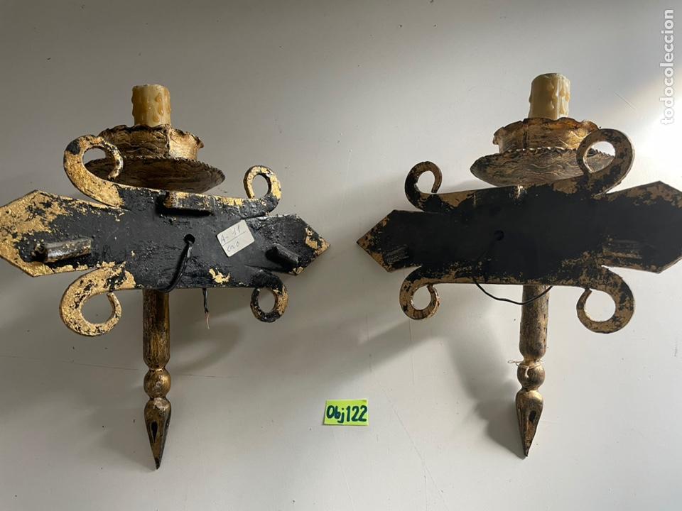 Antigüedades: Antiguos apliques - Foto 4 - 243631500