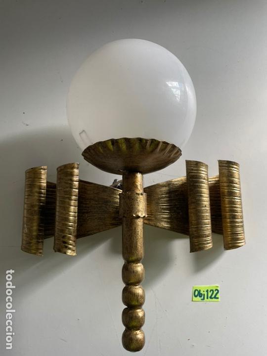 ANTIGUO APLIQUE (Antigüedades - Iluminación - Apliques Antiguos)