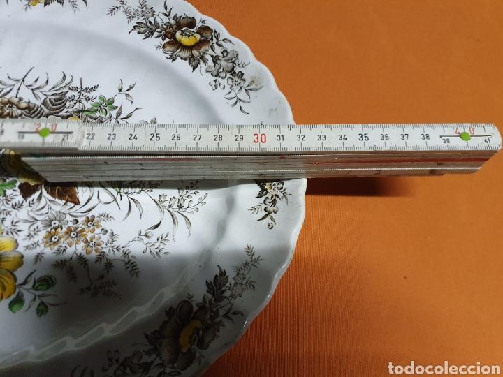 Antigüedades: Bandeja Porcelana 32 cm - Foto 2 - 243638845