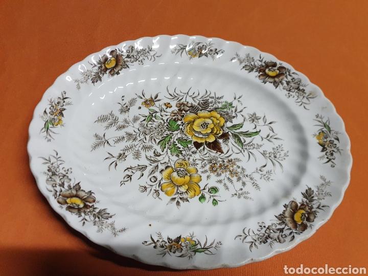 BANDEJA PORCELANA 32 CM (Antigüedades - Porcelanas y Cerámicas - Inglesa, Bristol y Otros)
