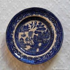Oggetti Antichi: PEQUEÑO ANTIGUO PLATO DE LOZA, INGLÉS VICTORIANO. Lote 243645600
