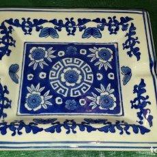 Antigüedades: CENICERO DE CERÁMICA. Lote 243654030