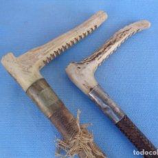 Antigüedades: ANTIGUAS FUSTAS BASTONES. Lote 243693495