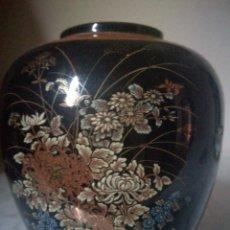 Antigüedades: JARRÓN DE PORCELANA JAPONÉS. Lote 243760655