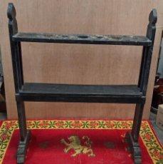 Antigüedades: ANTIGUO HACHERO O VELERO DE MADERA.. Lote 243768600