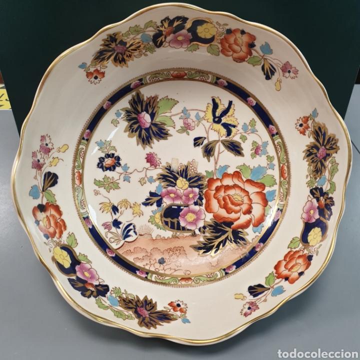 IMPRESIONANTE ENSALADERA INGLESA MASON'S MANDALAY (Antigüedades - Porcelanas y Cerámicas - Inglesa, Bristol y Otros)