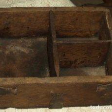 Antigüedades: CELEMIN ROBLE S XIX. HERRAJES ORIGINALES. MONTAÑA PALENTINA. Lote 243873060
