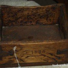 Antigüedades: CELEMIN PINO. 1863. HERRAJES ORIGINALES. MONTAÑA PALENTINA. Lote 243873495