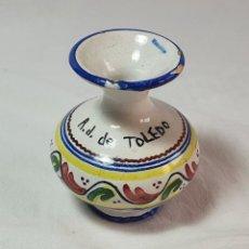 Antigüedades: JARRÓN/FLORERO **TALAVERA** PUENTE DEL ARZOBISPO ** CLÁSICO. Lote 243891880