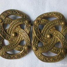 Antigüedades: ENGANCHES MODERNISTAS PARA CAPA. Lote 243900495