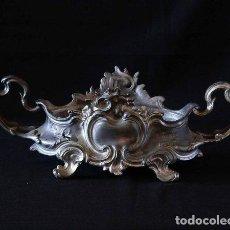 Antigüedades: MACETERO JARDINERA DE ESTAÑO. Lote 243908790