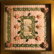Antigüedades: CUADRO RELICARIO SANTA TERESA DE JESUS. Lote 243910655
