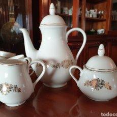 Antigüedades: JUEGO CAFE SANTA CLARA AÑOS 40. Lote 243919535