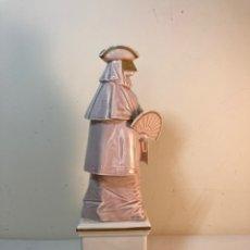 Antigüedades: FIGURA PORCELANA- ESPAÑA- ALGORA- CARNAVAL- 26 CM. Lote 243923735