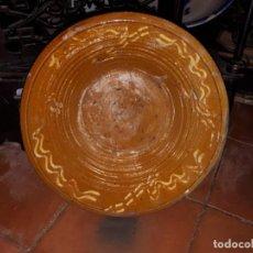 Antigüedades: BONITO Y ANTIGUO LEBRILLO DE BAILÉN, JAEN, DE ALFARERÍA DESAPARECIDA - PRINCIPIOS DEL SIGLO XX. Lote 243926345
