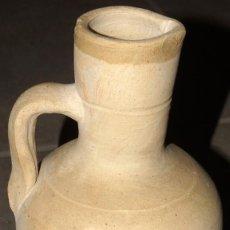 Antiguidades: JARRÓN DE CERÁMICA BLANCA. Lote 243930280