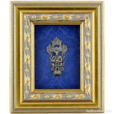 Antigüedades: BENDITERA DE PLATA FINA. SIGLO XIX. Lote 243951575