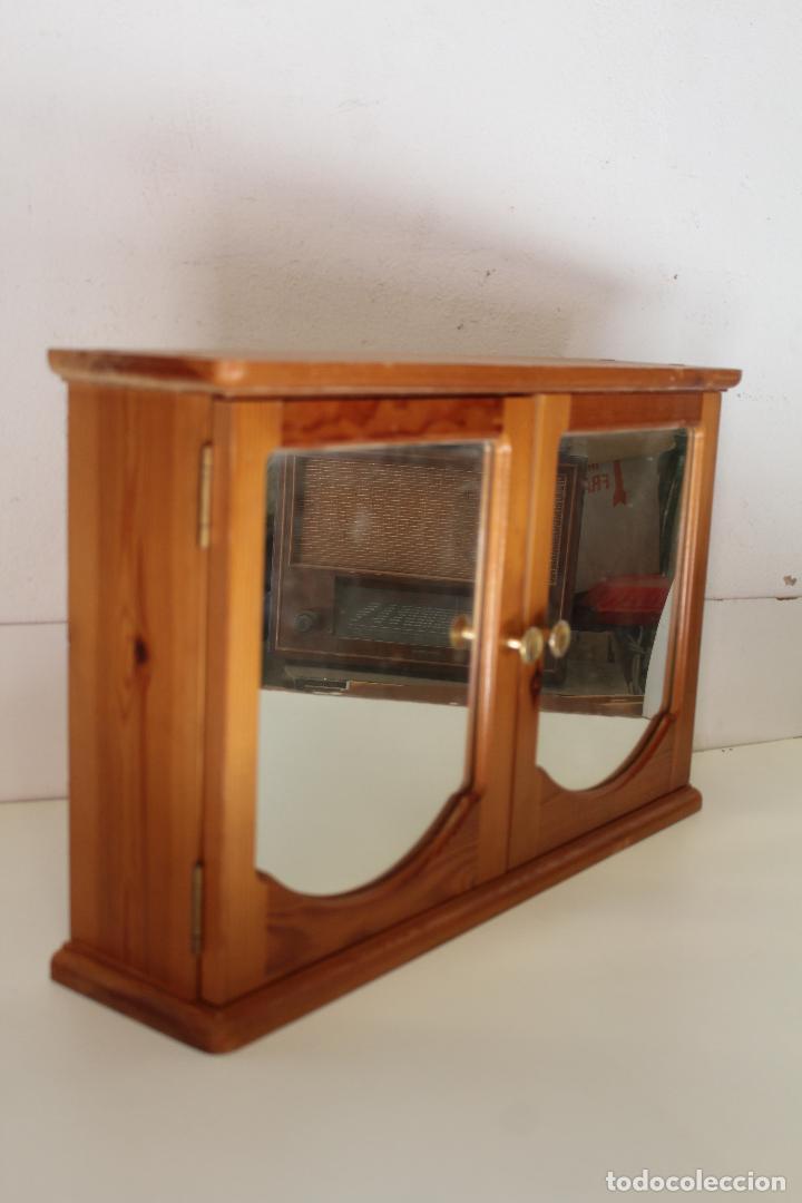Antigüedades: armario repisa con espejo - Foto 6 - 243957385