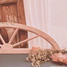 Antigüedades: PRECIOSA ANTIGUA VENTANA ARCO DECAPADA EN ROSA ANTIQUE UNIQUE. Lote 243964690
