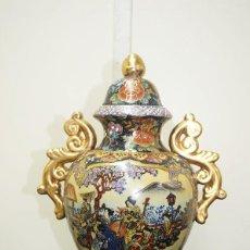 Antigüedades: ANTIGUO JARRÓN CHINO SATSUMA. Lote 243970785